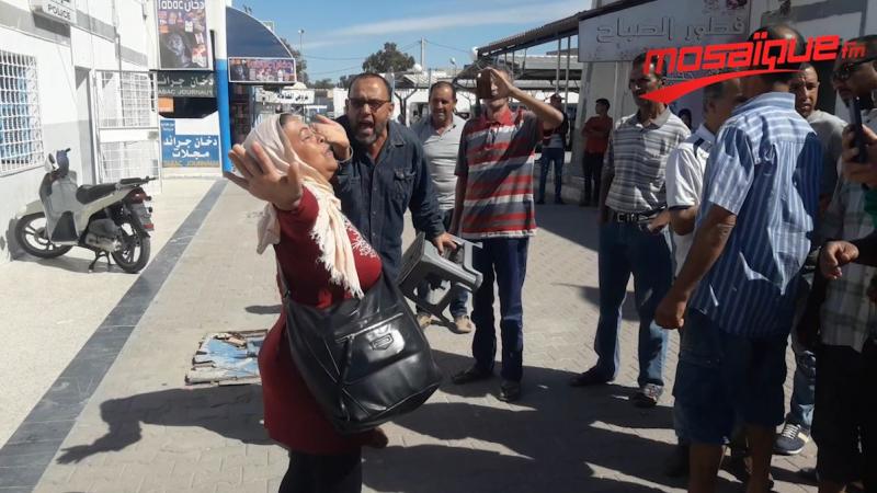إحتقان في محطة النقل البري في القيروان