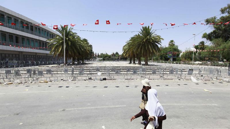 باردو: تسييج الساحة المقابلة للبرلمان