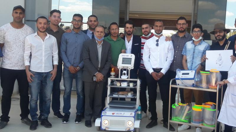 في إطار مجابهة كورونا: مهندسون يسلمون ''روبوتات'' لمستشفى جندوبة