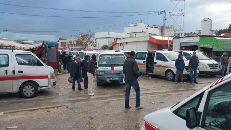 القصرين: سواق وأصحاب سيارات ''اللواج'' يحتجون