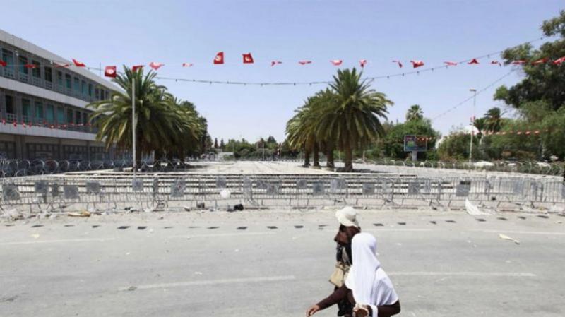 تسييج ساحة باردو: وزارة الداخلية تؤكد أنه ''عمل روتيني يومي''