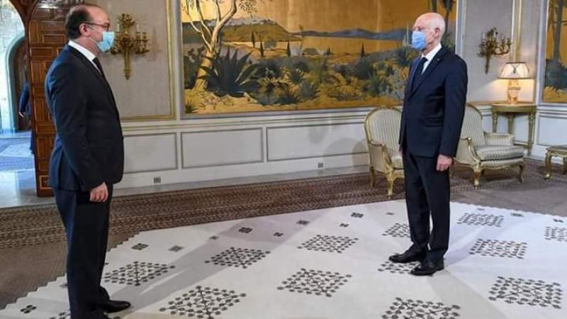 تهاني عيد الفطر تجمع الرؤساء الثلاثة في قصر قرطاج