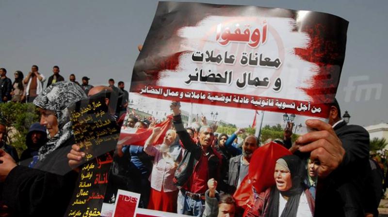 تحرّك إحتجاجي لتنسيقيات عمال الحضائر وتهديد بتدويل قضايا منظوريها