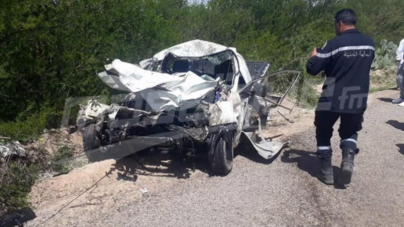 عين جلولة: وفاة إمرأة ورضيعها في حادث مرور