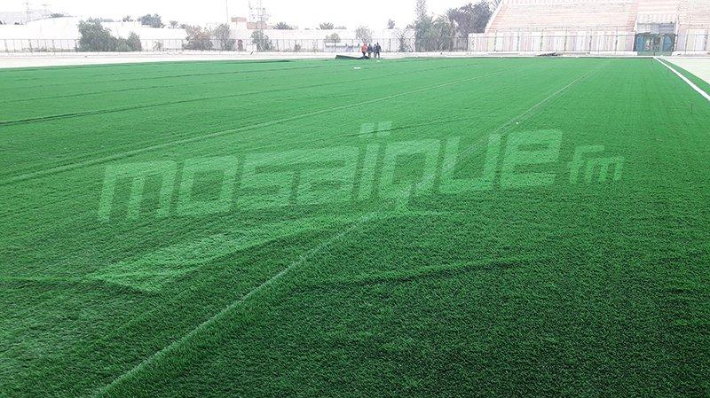 الجامعة التونسية لكرة القدم تتكفل بإتمام أشغال إنارة ملعب المتلوي
