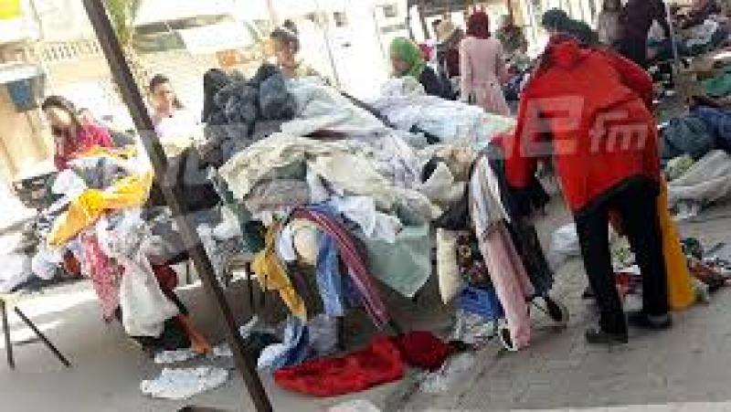 حجز طنين من الملابس المستعملة 'فريب'