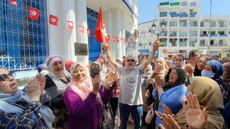 سوسة: عمال السياحة يواصلون إحتجاجاتهم للأسبوع الثاني على التوالي