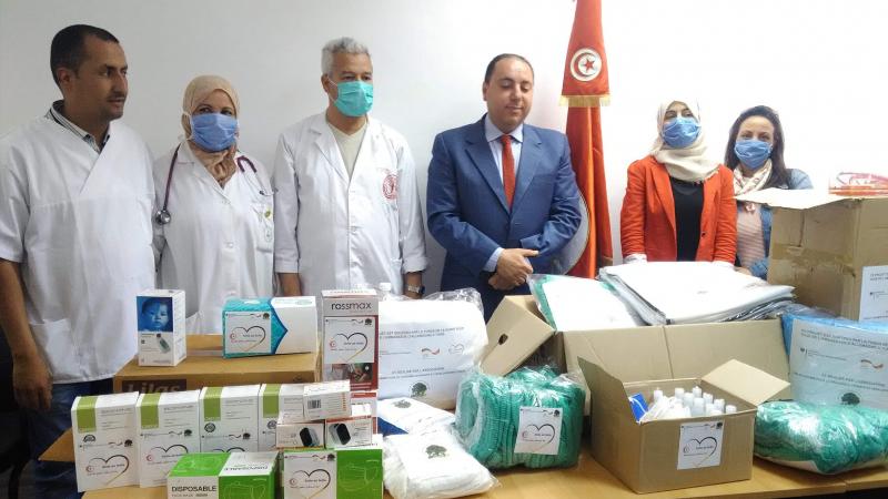 جمعية ''خير وخمير'' توفر معدات طبية لمستشفى عين دراهم