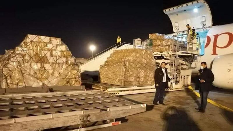 شحنة مساعدات طبية صينية تصل اليوم مطار قرطاج