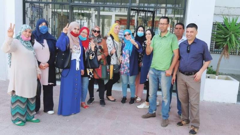 الأساتذة النواب في نابل: ''فلوسنا حق موش مزية''..