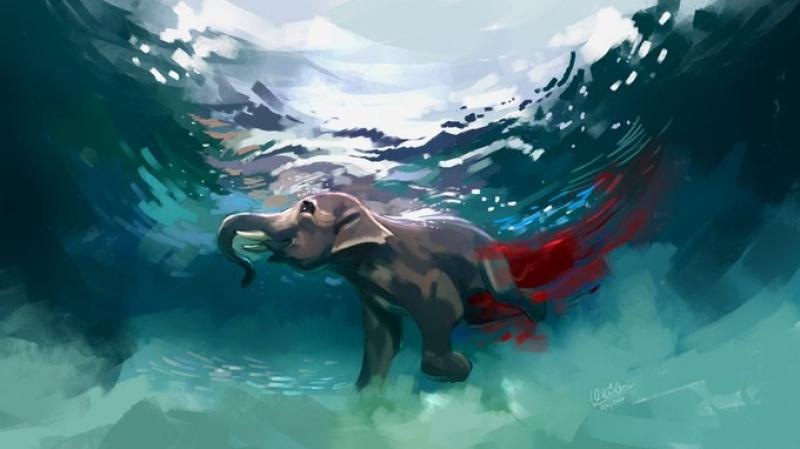 جريمة هزّت العالم: نفوق فيل بأناناس مفخّخ