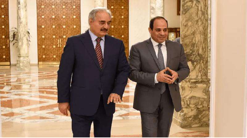 السيسي يعلن عن مبادرة لحل صراع ليبيا... وحكومة الوفاق ترفض