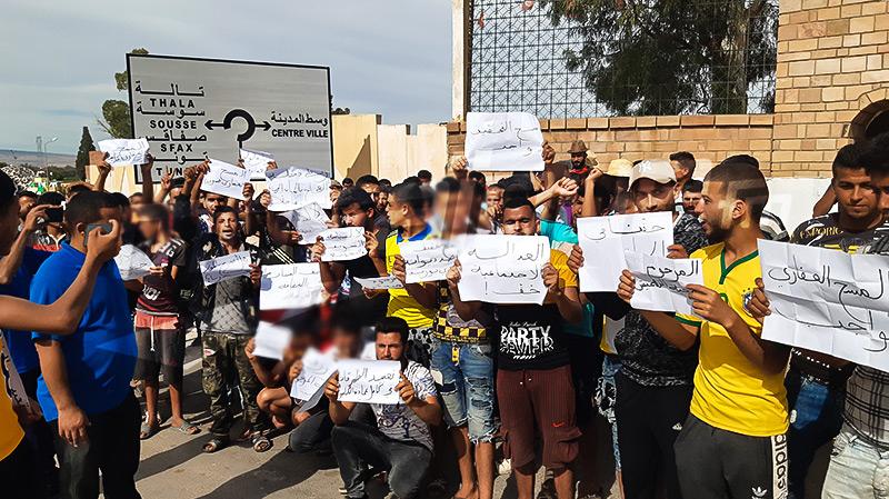 بعد مقتل مواطن إثر مطاردة ديوانية.. سكان حاسي الفريد يحتجون