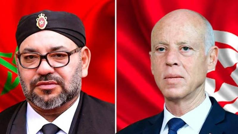 دعم التعاون الثنائي بين البلدين محور إتصال هاتفي بين سعيّد وملك المغرب