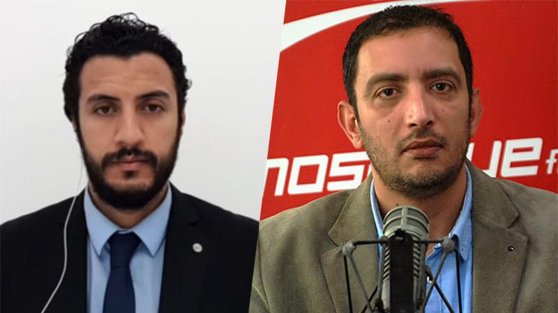 ياسين العياري ومعاذ بالشيخ في ميدي شو