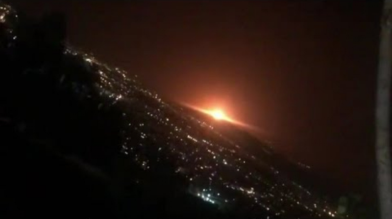 انفجار ضخم يهز العاصمة الإيرانية طهران