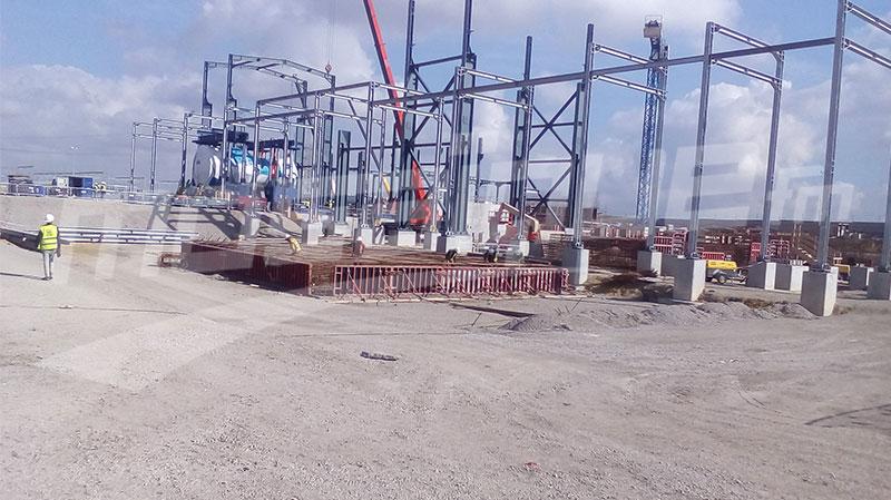 برج العامري: إنطلاق التشغيل الصناعي لمحطة الكهرباء بالتوربينات الغازية