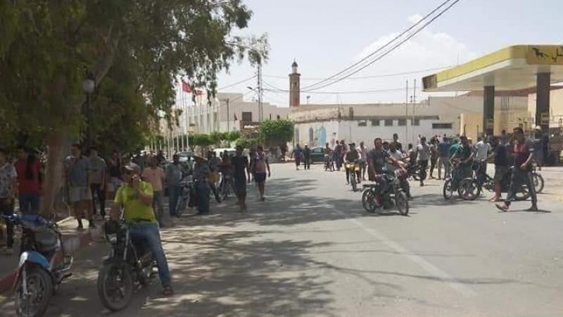 القصرين: جريمة قتل تخلف إحتقانا وقطعاً للطريق