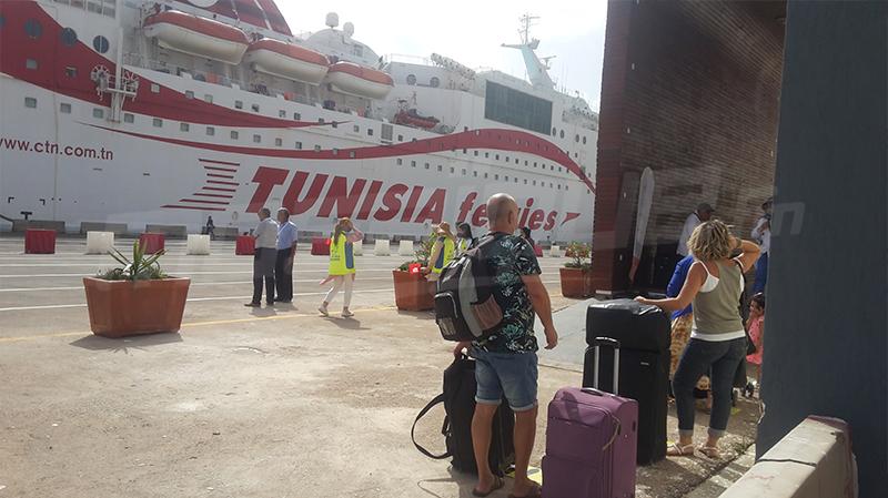 وصول أوّل باخرة إلى ميناء جرجيس