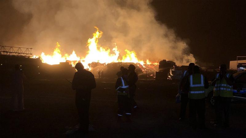 حريق يلتهم أكثر من 3 آلاف سيارة جديدة في الكويت