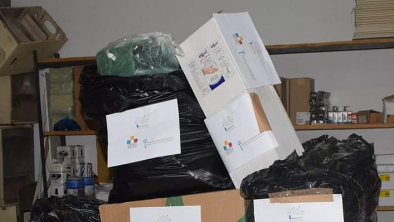 جمعية إيطالية توفر معدات وقائية من كورونا لبلدية تطاوين