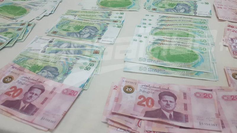 جمَّال: حجز مبالغ مالية بقيمة تناهز 400 ألف دينار