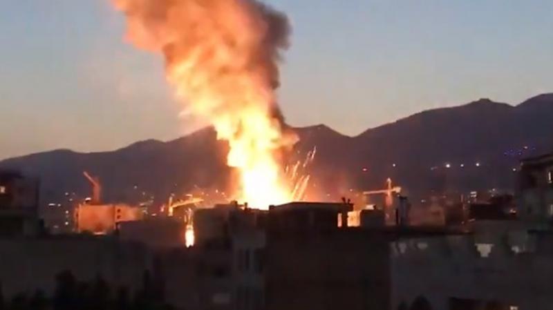 إيران: 13 قتيلا في إنفجار داخل مستشفى