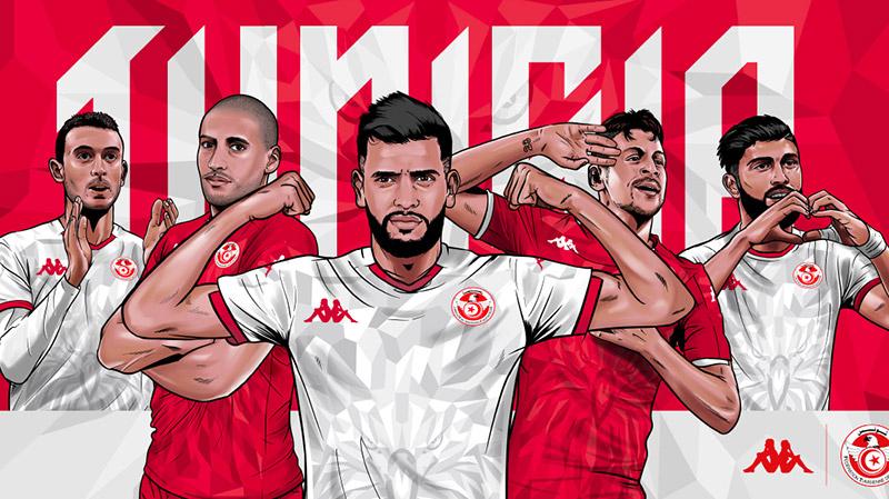 تصميم جديد لقميص المنتخب الوطني التونسي لكرة القدم