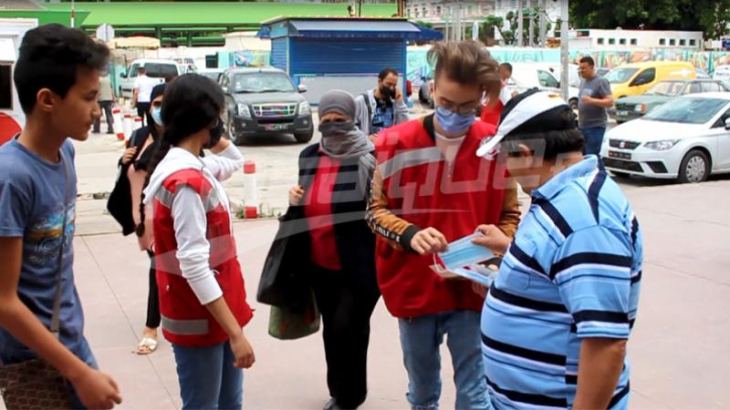 بعد فتح الحدود:تراخ كبير لدى التونسيين في ارتداء الكمامات