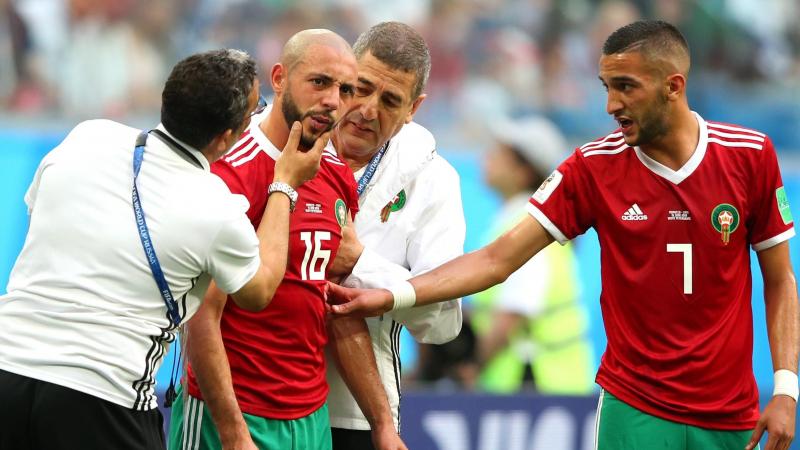 إصابة نجم المنتخب المغربي بكورونا
