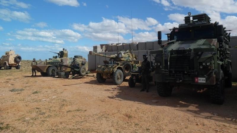 رفع درجة اليقظة والتأهب على طول الشريط الحدودي التونسي الليبي