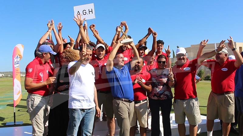 نادي الغولف بالحمامات يفوز بكأس تونس