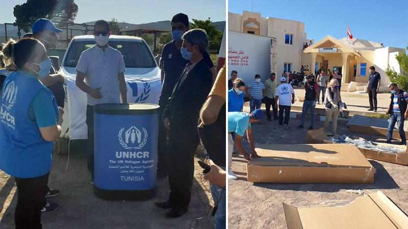 القصرين: تركيز 10 خيمات للحجر الصحي الإجباري