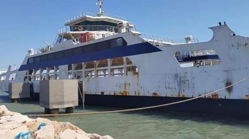 ميناء سيدي يوسف: شاحنة كبيرة في نجدة لود قرقنة