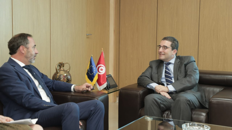 بيرغاميني يؤكد حرص الاتحاد الأوروبي على مواصلة دعم تونس
