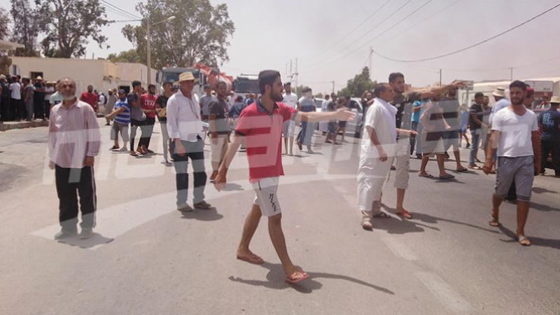 تطاوين: 26 إصابة جسدية و180 حالة إختناق خلال الإحتجاجات الأخيرة