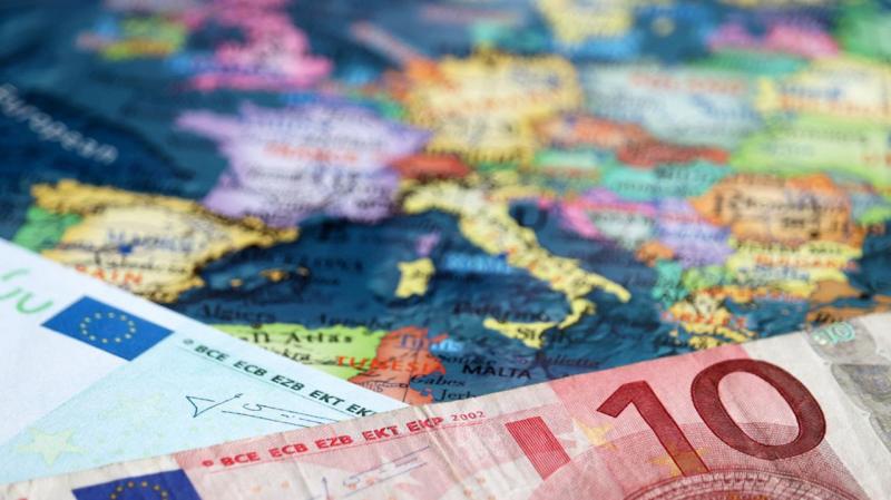 إقتصاد منطقة اليورو نحو تراجع بـ8.7% عام 2020