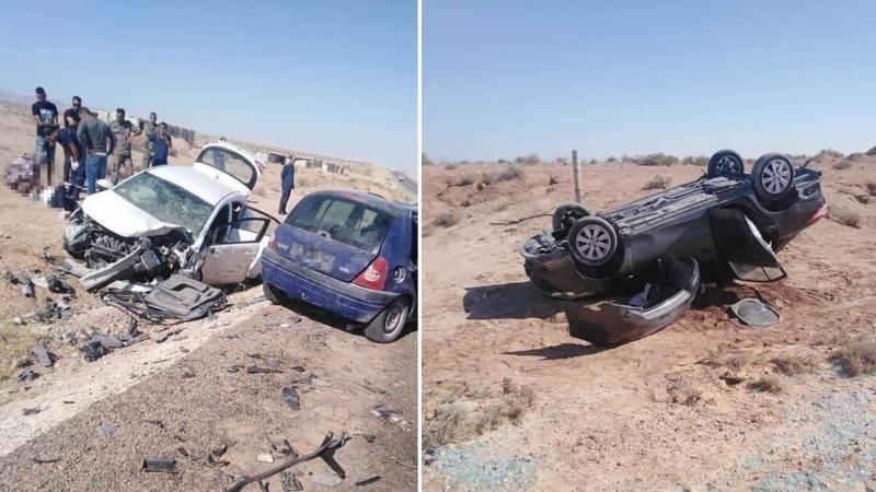 قابس: وفاة شخصين و8 حالتهم حرجة إثر حادث مرور