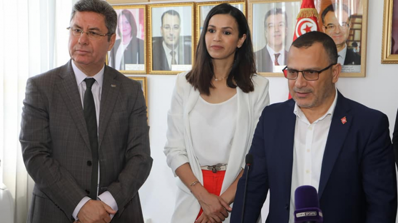 حبيبة الغريبي سفيرة للرياضة التونسية