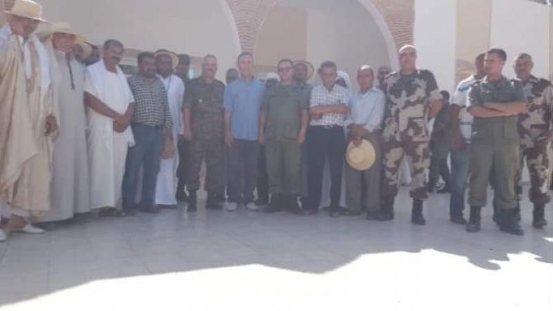 رمادة: عودة الهدوء بعد جلسة ناجحة بين الأهالي وقيادات من الجيش