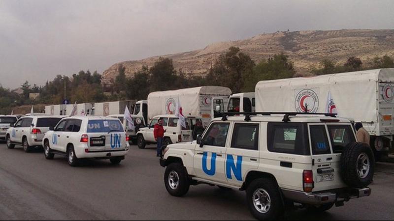 ''فيتو'' روسي صيني ضدّ إدخال المساعدات الإنسانية لسوريا