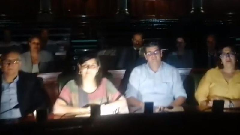تطالب بسحب الثقة من الغنوشي: كتلة الدستوري الحر تعتصم بالبرلمان