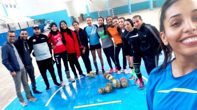 لأول مرة: الجمعية النسائية لكرة اليد بقابس في ''الوطني أ''