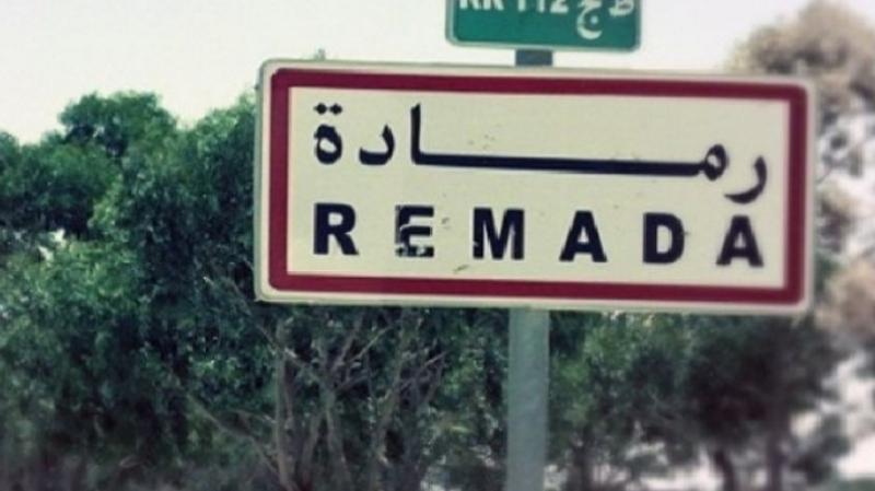 عودة الهدوء لرمادة مع تواصل إعتصام عدد من الاهالي بذهيبة