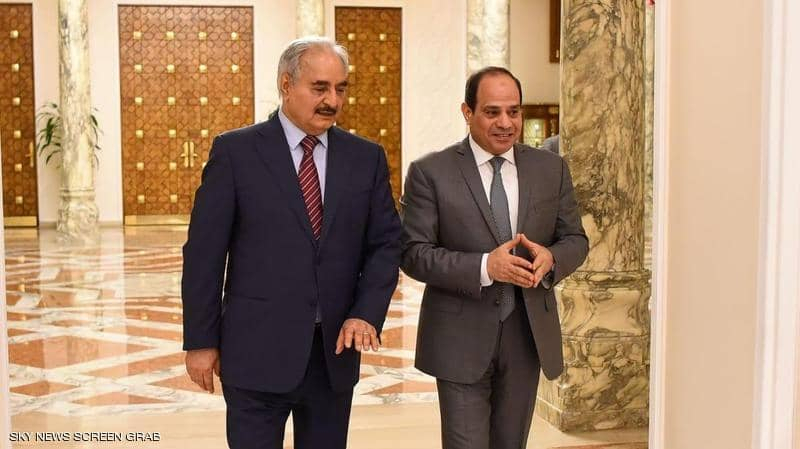 البرلمان الليبي يسمح لمصر بالتدخّل العسكري للتصدّي لتركيا