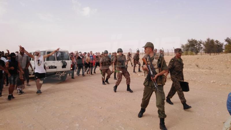 تطاوين: محتجّو الكامور يغلقون ''الفانا''