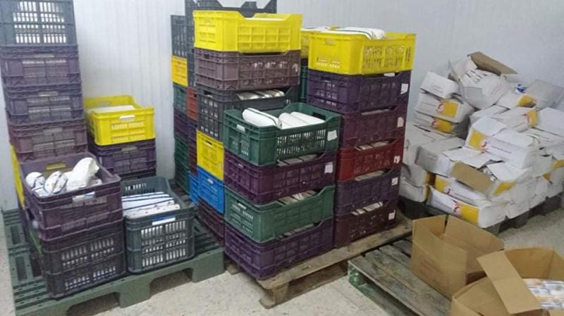 حجز 1.7 طن من الأجبان الفاسدة في أريانة