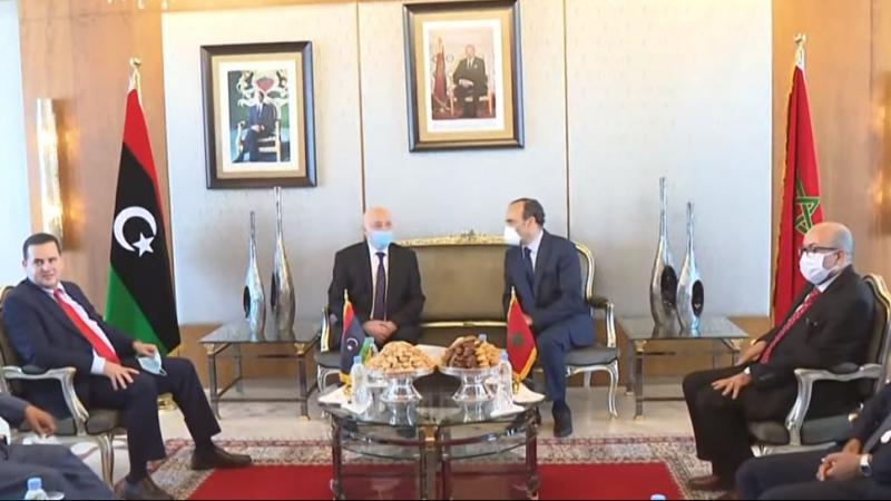 رئيس برلمان طبرق في المغرب لبحث الأزمة