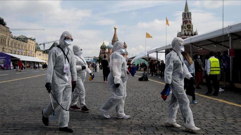 روسيا تسجل أكثر من 5500 إصابة جديدة بكورونا