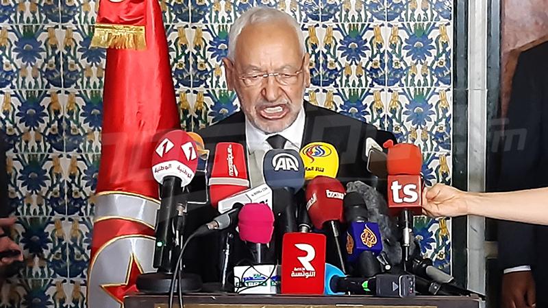 الغنوشي:رئيس الجمهورية رمز وحدة الدولة.. والمشيشي لن يجد منا إلا الدعم